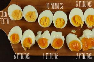 Como cocinar huevos duros