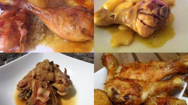 Recetas de platos fuertes for Platos fuertes franceses