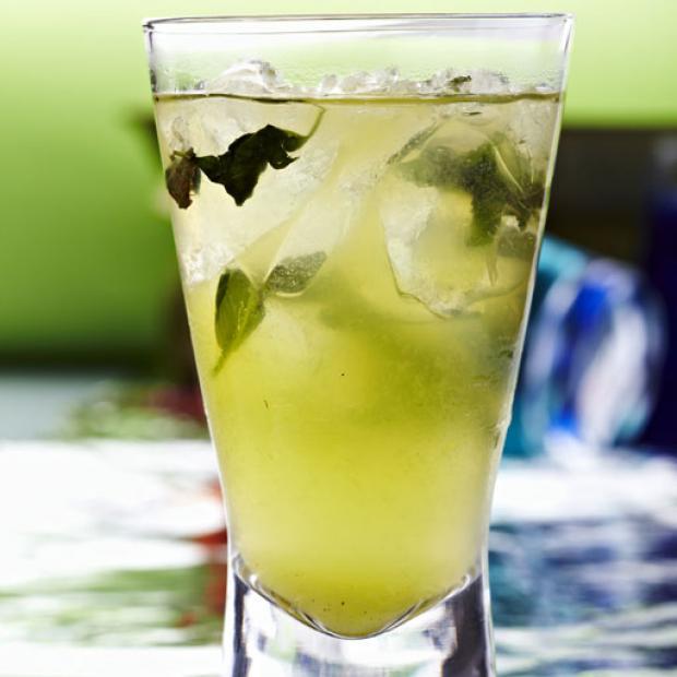 Mint tequila, receta por Juan Sebastian