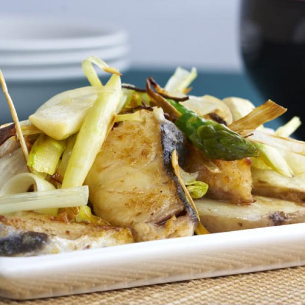 Patatas con bacalao receta por julia aberasturi for Cocina bacalao con patatas