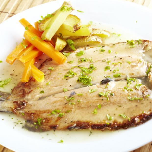 Trucha al estilo de las ardenas receta por marco arbelaiz - Como cocinar la trucha ...