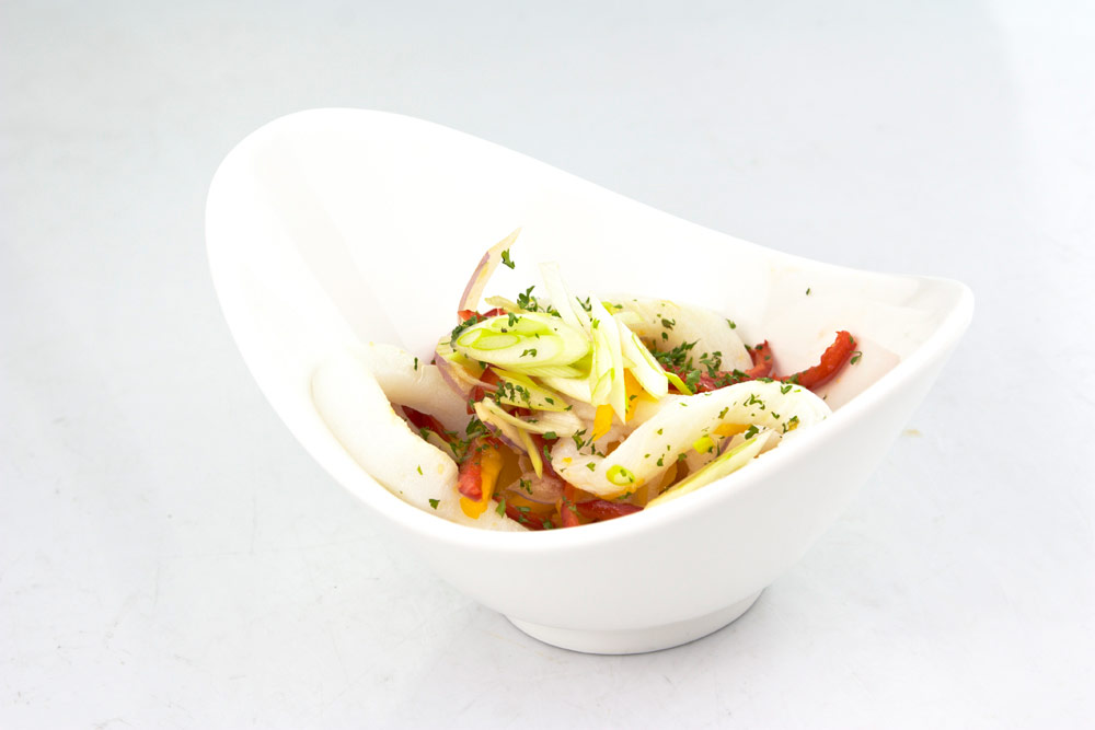 Ensalada Tai de pollo y verduras